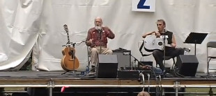 "Utah Phillips - ""Dump the Bosses Off Our Backs"" at the Vancouver Folk Festival"